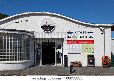 Rathlin Island Ferry Terminal In Ballycastle