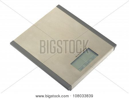 Metal electronic scales