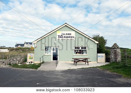 Souvenir Shop On Rathlin Island