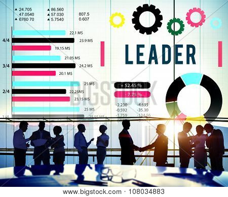 Leader Leadership Authority Coach Concept