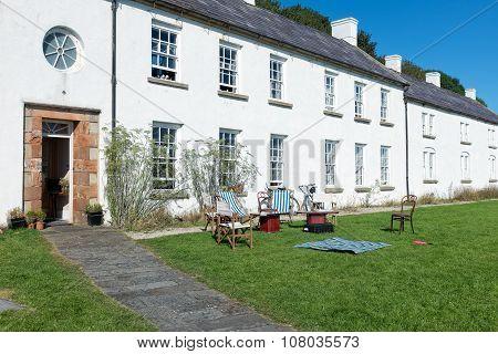 Rathlin Island, Northern Ireland : Old Manor House