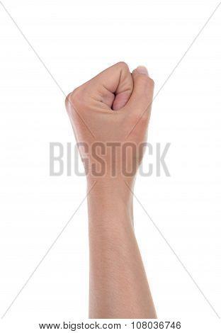 Hand Is Showing Zero Fingers