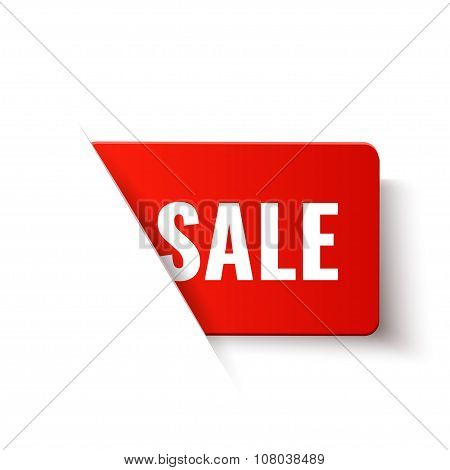 Sale - Vector Red Label