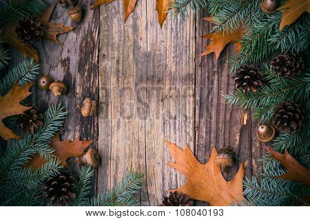 Christmas Tree Spruce Pine Wooden