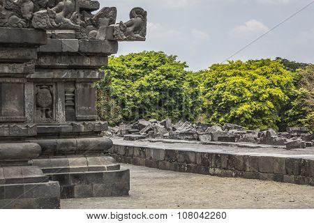 Prambanan Temple Near Yogyakarta On Java Island, Indonesia