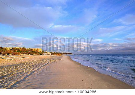 Beach In Sousse, Tunisia