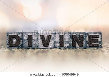 Divine Concept Vintage Letterpress Type