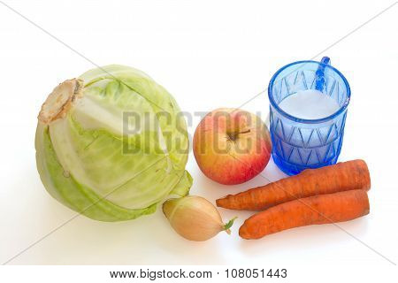 Vegetables For Salting Of Cabbage