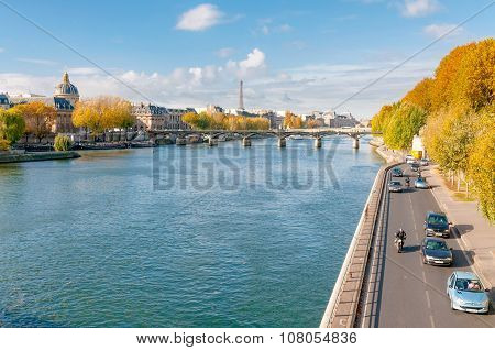 The Seine In Paris
