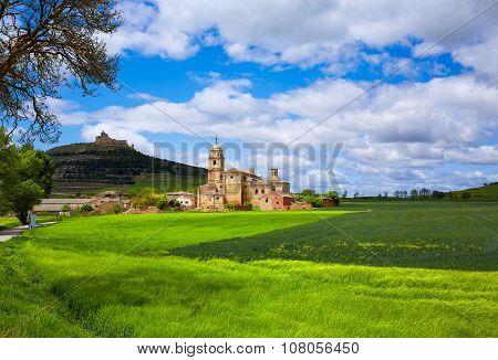 Castrojeriz in the way of Saint James at Castilla Spain