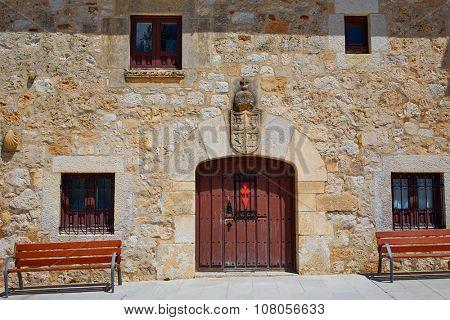 San Juan de Ortega by the Way of Saint James in Castilla Burgos