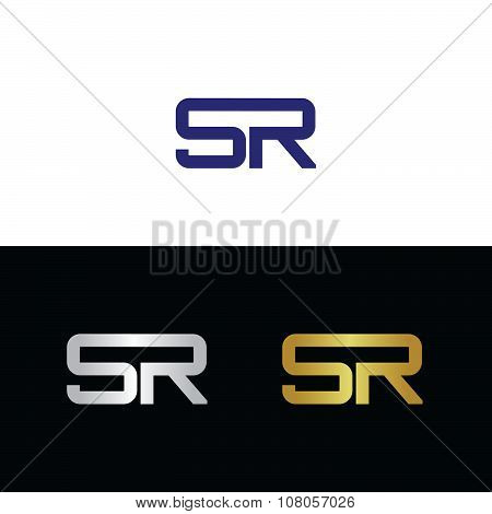 Initials with letter S and letter R