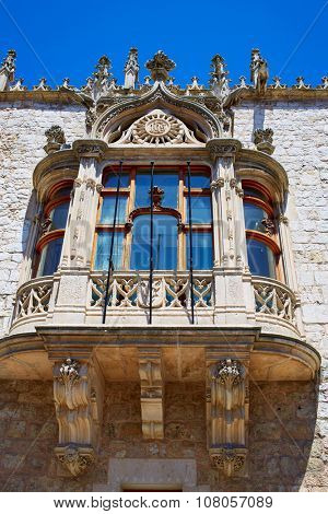 Casa de los Condestables house in Burgos also known as Casa del Cordon at Castilla Spain