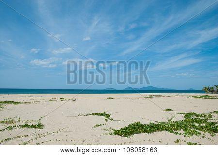 Seascape in Central Vietnam, Danang.
