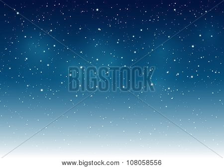 Starry sky background for Your design