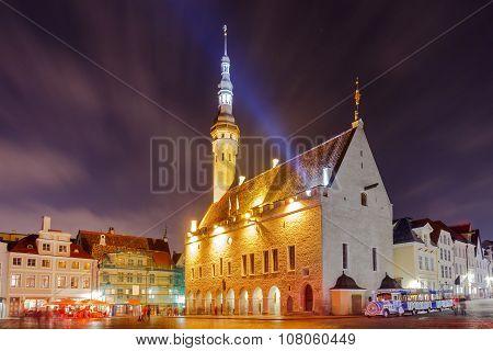 Tallinn. Town Hall Square.