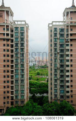 Apartment Buildings Shanghai