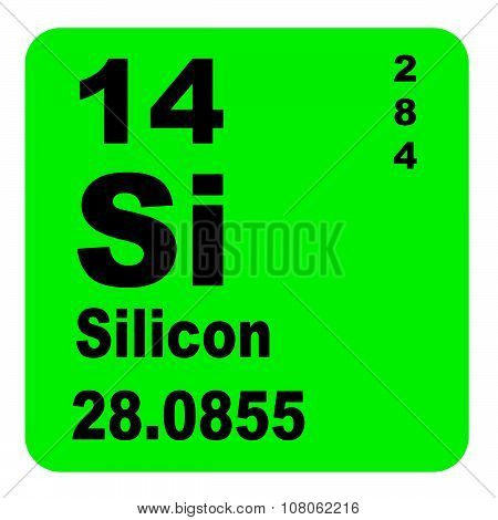 Silicon Periodic Table of Elements