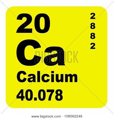 Calcium Periodic Table of Elements