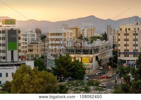 Nicosia city center