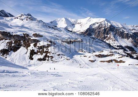 Ski Station Near Hintertux Glacier