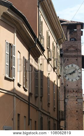 Pavia (italy): Historic Buildings
