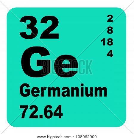 Germanium Periodic Table of Elements