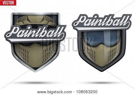 Premium symbols of Paintball Tag