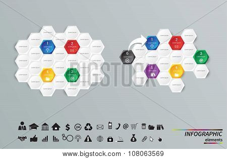 Vector Template for cycle diagram, graph, presentation and round chart