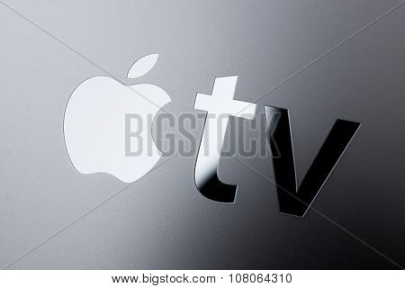 Apple TV Logo On New Device