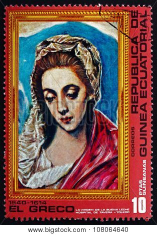Postage Stamp Equatorial Guinea 1976 Virgin, By El Greco