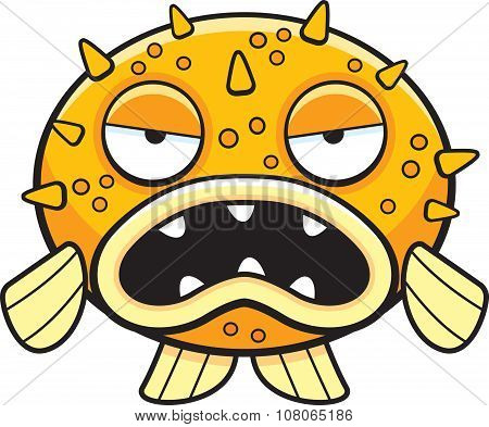 Cartoon Blowfish