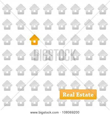 Real estate background.