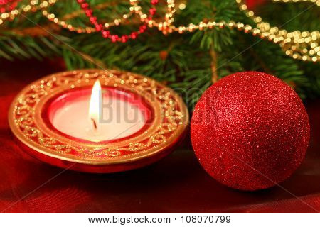 Christmas Decor Composition