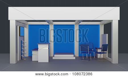 Empty Booth Space Trade