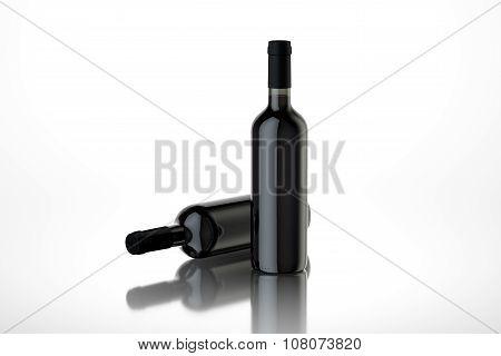 Two Wine Bottle