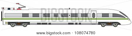 Linear High-speed Train Vector Express Railway
