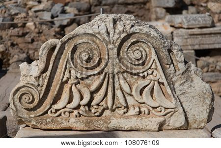 Architectural Order In Ephesus Ancient City