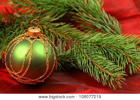Christmas Greeen Bauble