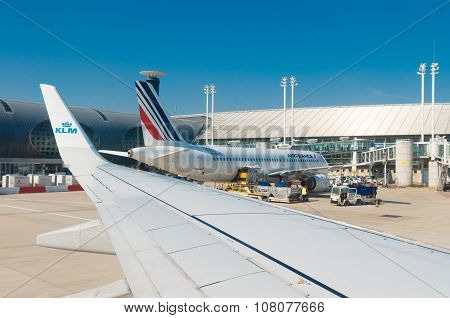 Airfrance Plane In Paris