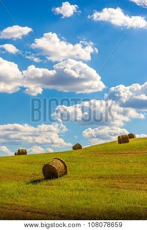 Haystacks On A Hill