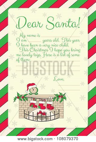 37_letter To Santa_fireplace