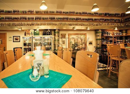 Beer Restaurant With Big Selection Of Craft Beers For Gourmet