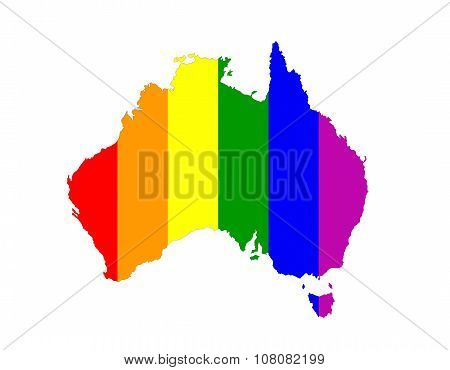 Australia Gay Map