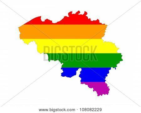Belgium Gay Map
