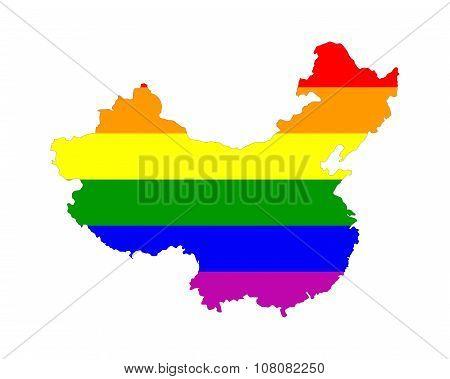 China Gay Map