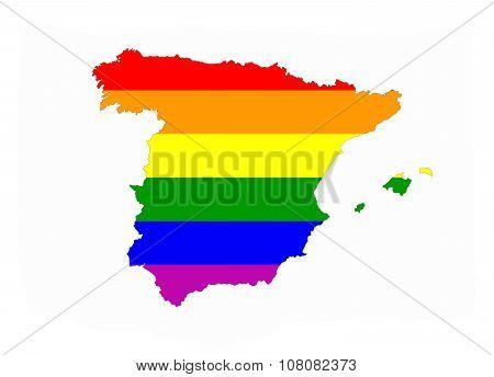 Spain Gay Map