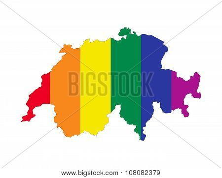Switzerland Gay Map