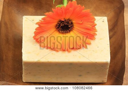 Organic Soap With Marigold