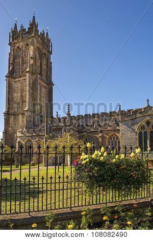 Church Of St John The Baptist, Glastonbury, Somerset, England